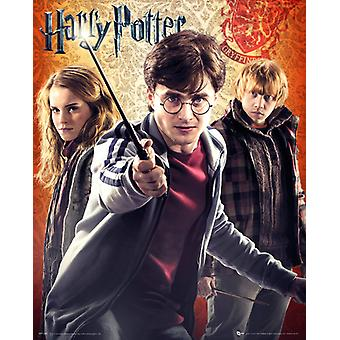 Harry Potter-Trio-Poster-Plakat-Druck