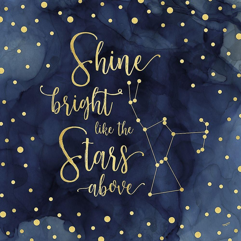 Oh My Stars III Shine Bright Poster Print by Tara Reed ...