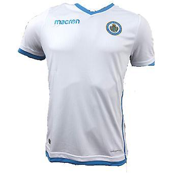 2018 - 2019 San Marino bort streck fotbollströja