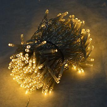 Decorações premier 16m 200 LED Premier Supabright Outdoor Natal Lights Warm White Clear Wire