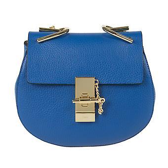 Chloe Drew laukku | Sininen kulta Hardware | Pieni