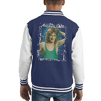 TV keer Rod Stewart Russell Harty Plus Kid's Varsity Jacket