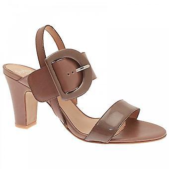 Perlato Low Heel Ankle Strap Sandal