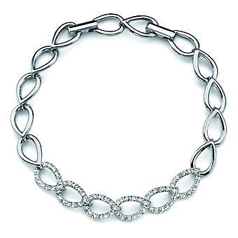 Oliver Weber armband fina Rhodium Crystal