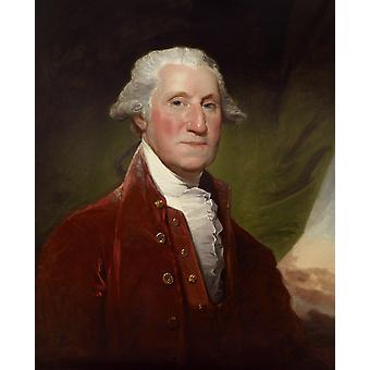 George Washington, Gilbert Stuart, 50x40cm