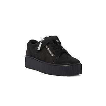 Fornarina jersey black shoes