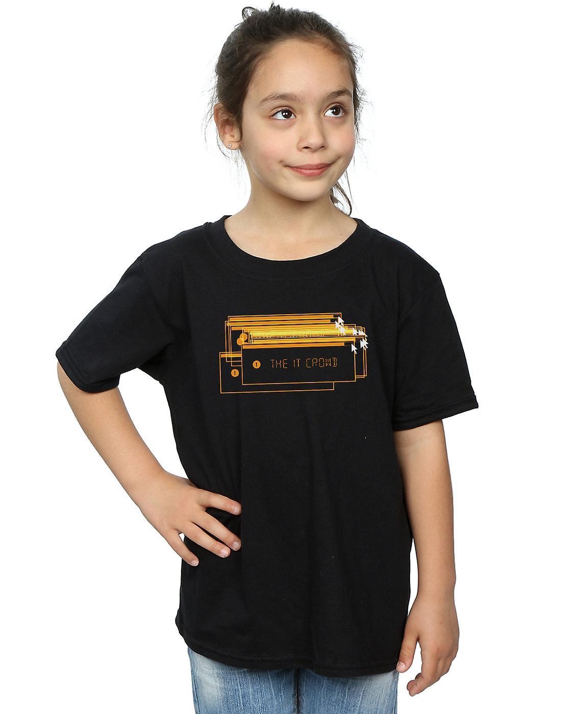 The IT Crowd Girls Error Screens T-Shirt