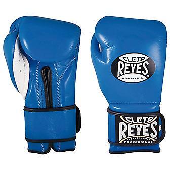 Cleto Reyes Velcro Boxing Gloves Blue