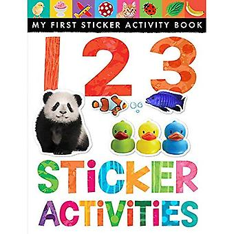 Autocollant 123 activités (mon premier livre autocollant d'activité)