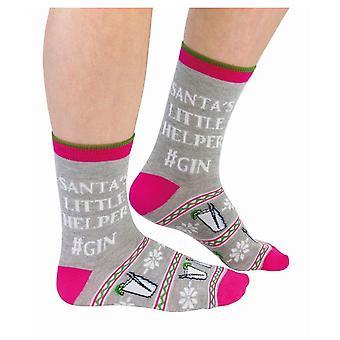 Dames leuk nieuwigheid kerst sokken