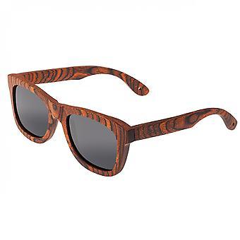 Spectrum Peralta Wood Polarized Sunglasses - Orange/Black