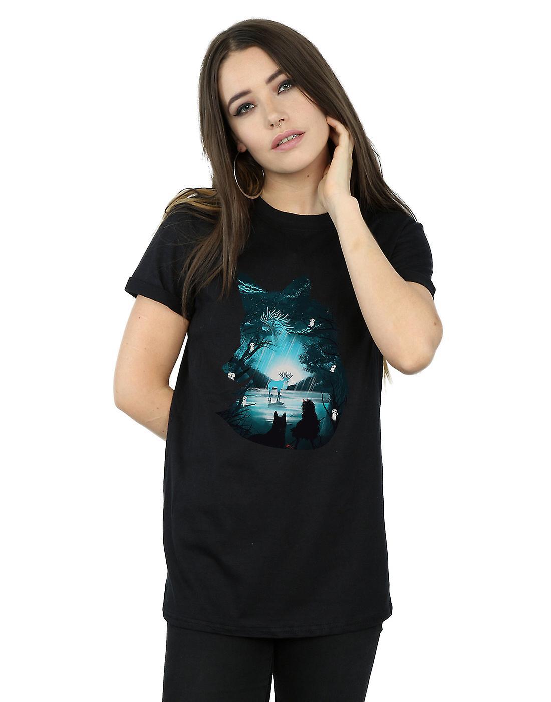 Dan Dingeroz Women's Mystical Wolf Boyfriend Fit T-Shirt