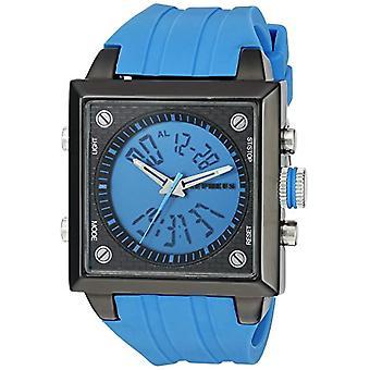 CEPHEUS CP900-633A-men's wristwatch, silicone, color: Blue