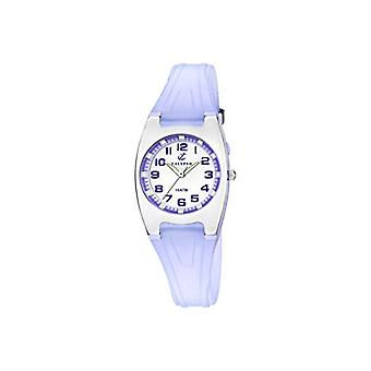 Calypso-ladies ' quartz analog Display and plastic strapping, color: blue, K6042/E