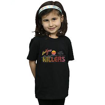 Zabijaci dievčatá retro Las Vegas T-shirt