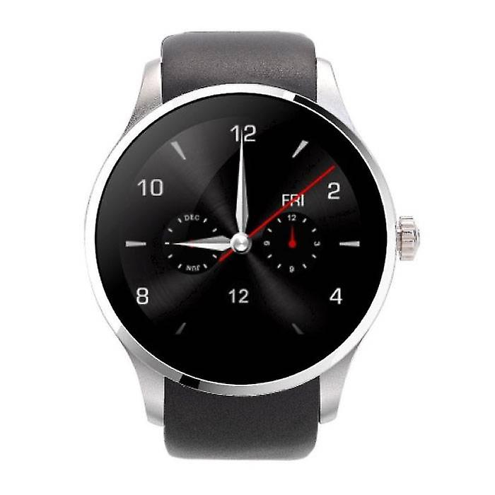 Stuff Certified ® K88S Smartwatch Smartphone Fitness Sport Activity Tracker Watch OLED Android iOS iPhone Samsung Huawei Silver