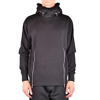 Mcq Door Alexander Mcqueen Ezbc053029 Men's Black Cotton Sweatshirt