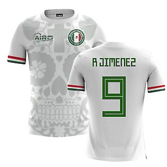 2020-2021 Mexico Away Concept Football Shirt (R Jimenez 9)