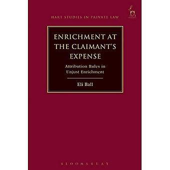 Anrikning på käranden bekostnad: erkännande regler i obehörig berikning (Hart studier i privat rätt)