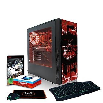 Fierce EXILE Gaming PC, Fast AMD Athlon X4 950 3.8GHz, 1TB HDD, 16GB RAM, GTX 1650 4GB