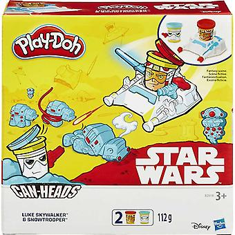 Play-Doh Star Wars Latas 2 Pack-Luke Skywalker e Snowtrooper