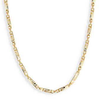 Greek Gold Plated Necklace 45cm