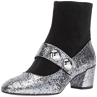Marc Jacobs Womens Margaux Glitter Suede Booties