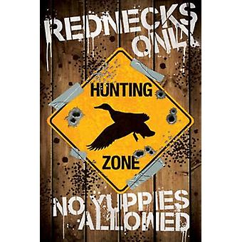 Poster - Redneck Hunting - Wall Art Licensed Gifts Toys 241233