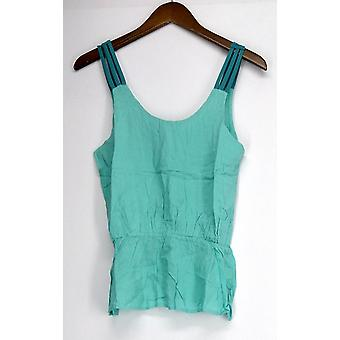 Sace Top Tank Style w/ Scoop Neckline Light Green Womens