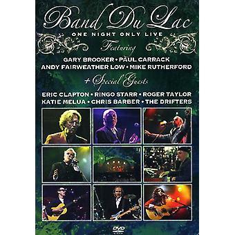 Importer des One Night Only Live [DVD] é.-u.