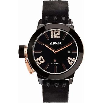 U-boat Classic Women's Watch Analog Automatic with Cowhide Bracelet 7122