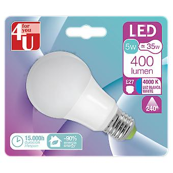 Garza Led 4U Standard 5W E27 240  400Lm 40K (Lighting , Light bulbs)