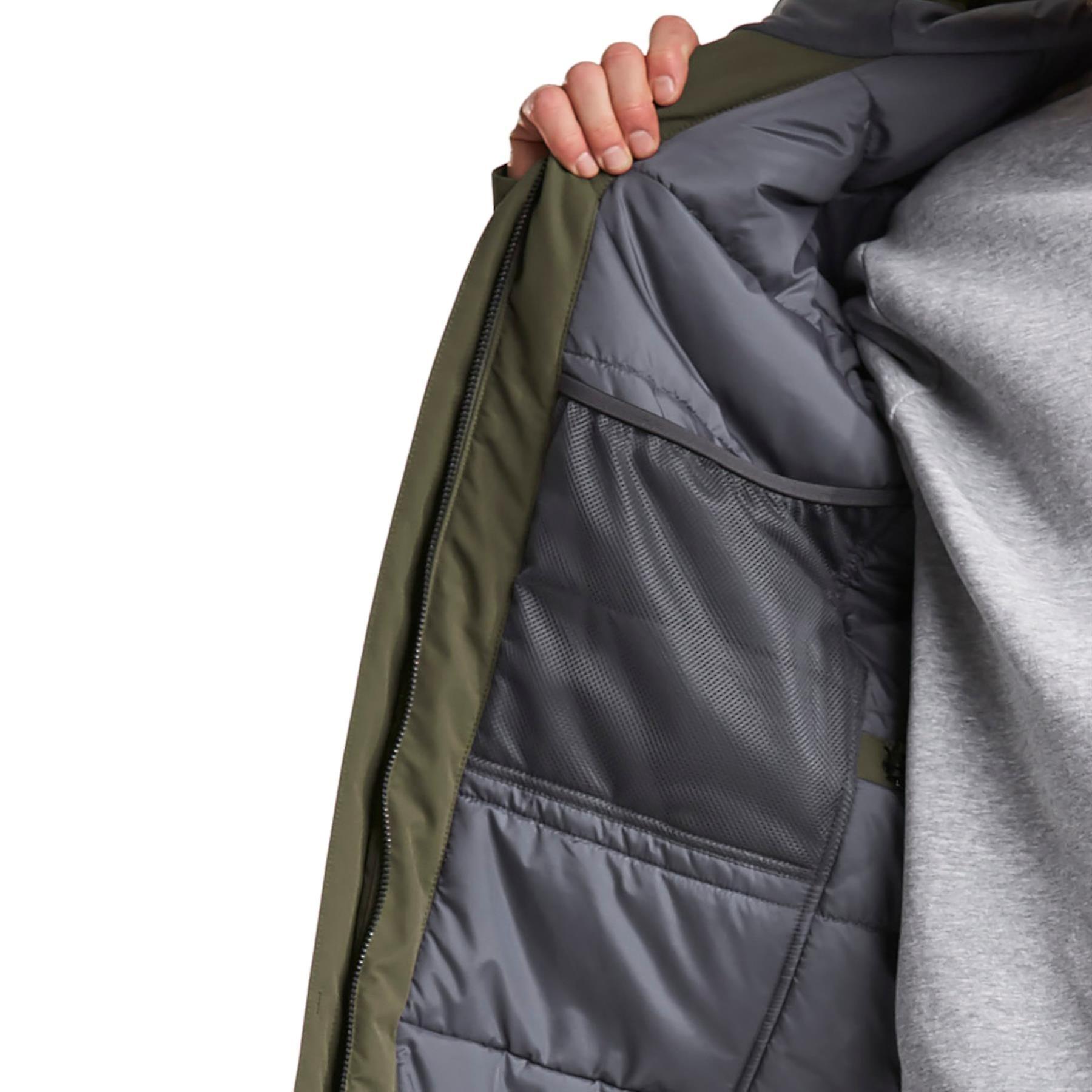 Didriksons tegnede 3 Herre polstret Parka jakke | Krokodille grøn