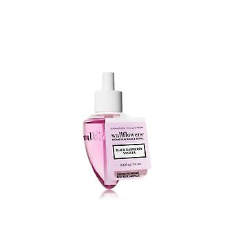 Bath & Body Works Black Raspberry Vanilla Wallflowers Home Fragrance Refill 0.8 fl oz / 24 ml