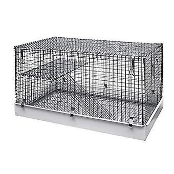Lazy Bones Single Storey Small Animal Metal Cage