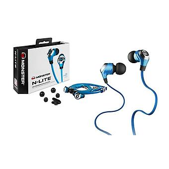 Monster N-Lite In Ear Headphones - Blue