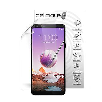 Celicious Vivid Plus Mild Anti-Glare Screen Protector Film Compatible with LG Stylo 4 [Pack of 2]