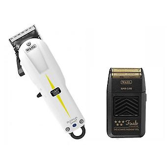 Wahl Cordless Super Taper Clipper and Finale Shaver
