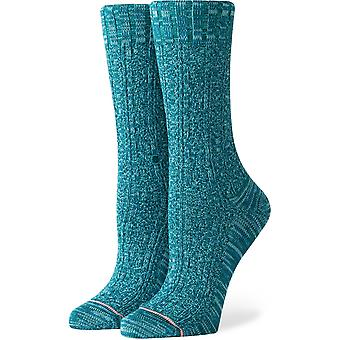 Stance Frio Crew Socks in Green