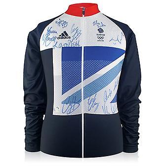 Zespół GB Podpisana London 2012 Olympics Cycling Jersey