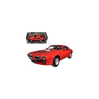 MotorMax American Classics - 1973 Pontiac Firebird Trans Am Red  1:24
