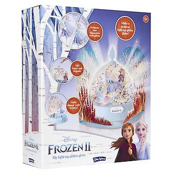 John Adams Frozen II Light Up Glitter Globe