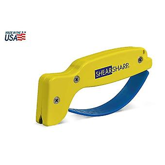 Afilador de tijera AccuSharp Classic ShearSharp, amarillo/azul #002C