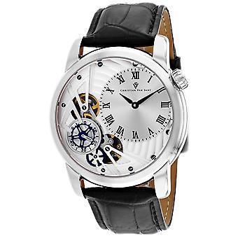 Christian Van Sant Men's Sprocket Auto-Quartz Silber Zifferblatt Uhr - CV1540