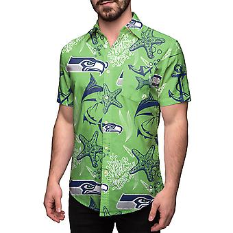 Seattle Seahawks HAWAII FLORAL NFL Shirt Short Sleeve Shirt