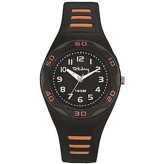 Tekday 653491 - watch black Orange woman