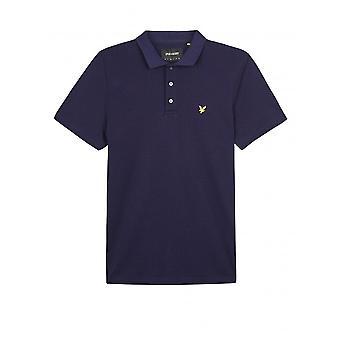 Camicia da Polo Lyle & Scott soft touch-Navy