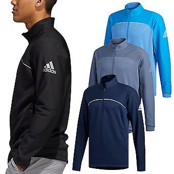 Adidas mens go-to 1/4 zip water bestendig all-weather Golf trui