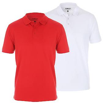 Proquip Golf Mens Tour Elite Pique LC Polo Shirt