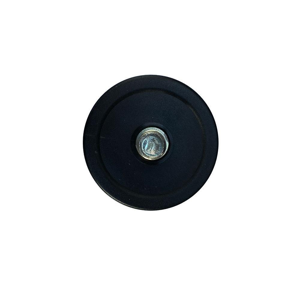 Jambe de meubles noirs ronds 9 cm (M10)